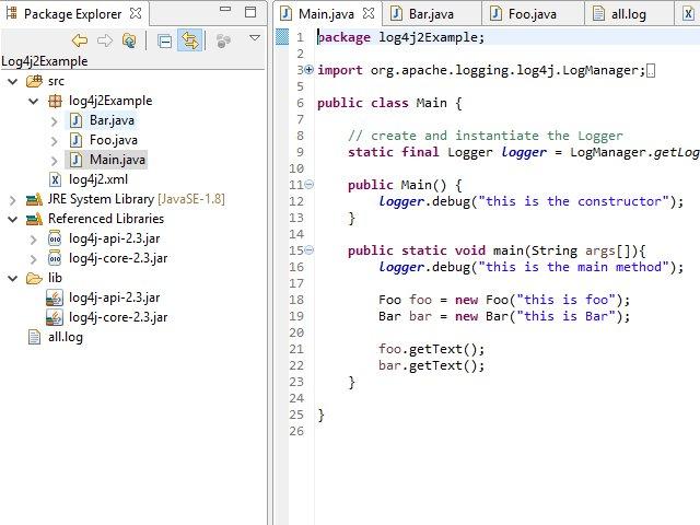 Log4j2 Basic Logging For Java Development Eclipse Joel Dauncey